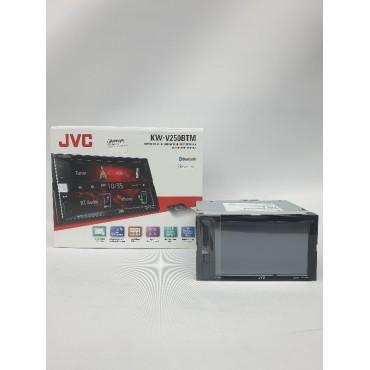 JVC D-DIN B/T DVD RADIO